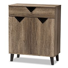 Baxton Studio Modern Brown Storage Cabinet