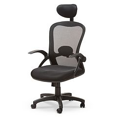 Baxton Studio Modern Ergonomic Mesh Black Office Chair