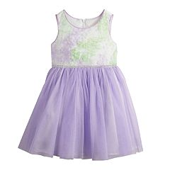 Toddler Girl Youngland Soutache Tulle Dress