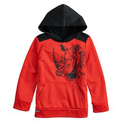 Boys 4-12 Jumping Beans® Geometric Rhino Active Pullover Hoodie