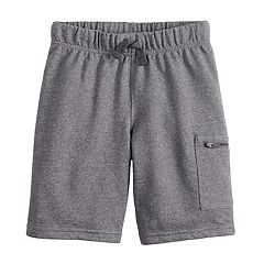 Boys 4-12 Jumping Beans® Zip Pocket Knit Shorts