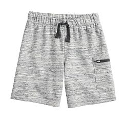 Boys 4-12 Jumping Beans® Zip Pocket Knit Shorts
