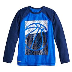 Boys 4-12 Jumping Beans® Active Basketball Raglan Top