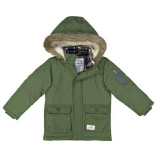 Boys 4-7 Carter's Hooded Heavyweight Jacket
