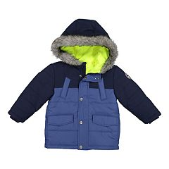 Boys 4-7 OshKosh B'gosh® Hooded Colorblock Heavyweight Jacket