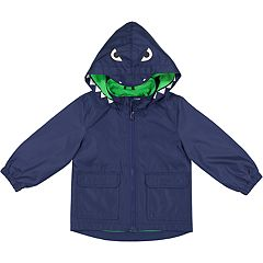 Boys 4-7 Carter's Dinosaur Hooded Midweight Jacket