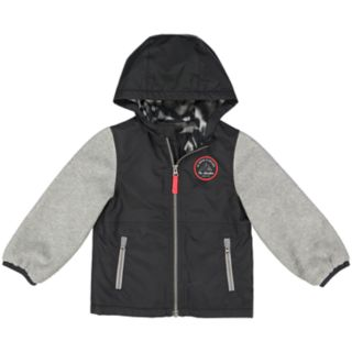 Boys 4-7 Carter's Lined Hooded Midweight Jacket