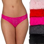 Juniors' Candie's® Lace Thong Set