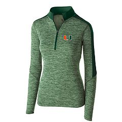 Women's Miami Hurricanes Electrify Pullover