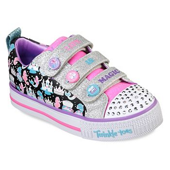 d154c25f47041 Skechers Twinkle Toes Twinkle Lite Miss Magical Girls  Light Up Shoes