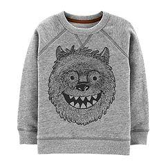 Boys 4-12 Carter's Yeti Pullover Sweatshirt