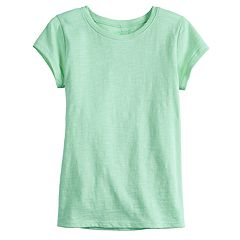 Girls 4-12 Jumping Beans® Slubbed Solid Tee
