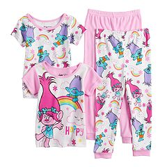 2260a8a260 Toddler Girl DreamWorks Trolls Poppy Tops   Bottoms Pajama Set