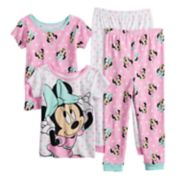 Disney's Minnie Mouse Toddler Girl Tops & Bottoms Pajama Set