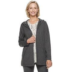 Women's Dana Buchman Everyday Casual Hooded Jacket