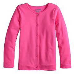 Girls 4-12 Jumping Beans® Knit Cardigan