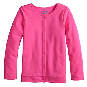 Girls 4-12 Jumping Beans® Knit Cardigan