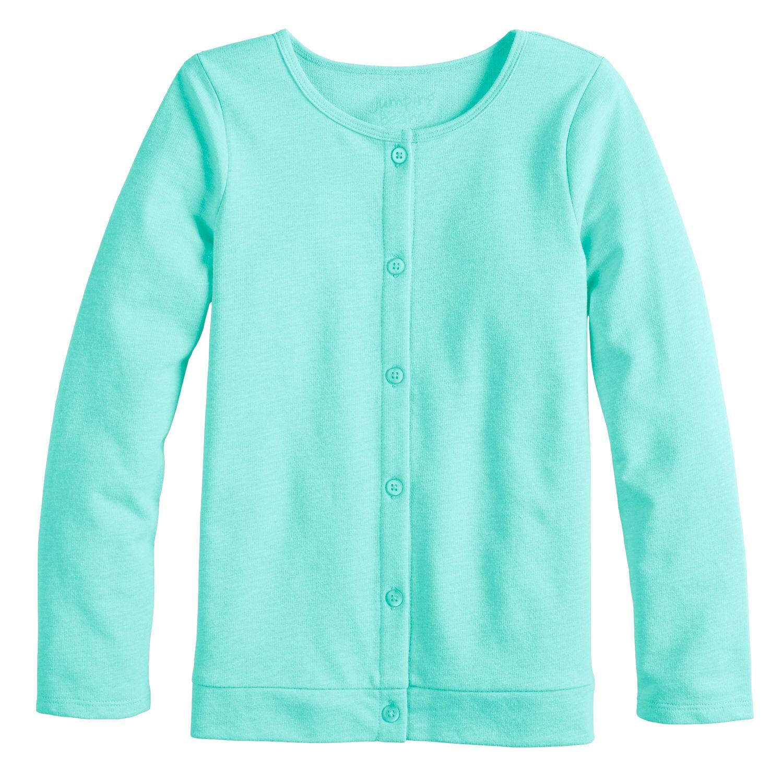 girls blue kids long sleeve tops, clothing kohl\u0027sgirls 4 12 jumping beans® knit cardigan