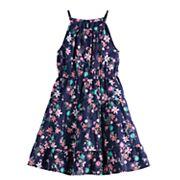 Girls 4-12 SONOMA Goods for Life? Floral Tiered Halter Dress