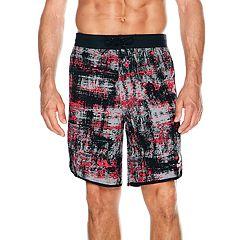 Men's Reebok Elemental Stripe 9-inch Swim Trunks