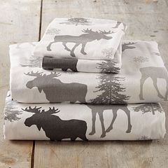Great Bay Home Super Soft Printed Flannel Sheet Set