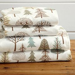 Great Bay Home Mountain Printed Microfiber Sheet Set