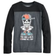 Boys 8-20 Skeleton Gamer Tee