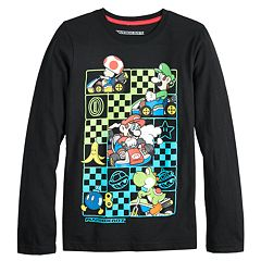 Boys 8-20 Super Mario Kart Tee