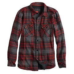 Boys 8-20 Urban Pipeline® Flannel Plaid Button-Down Shirt.