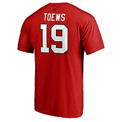 Men's Chicago Blackhawks Jonathan Toews Player Tee