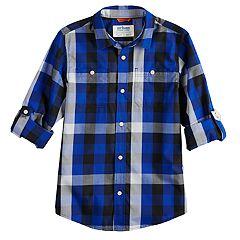 Boys 8-20 Urban Pipeline® Roll-Tab Button-Down Shirt