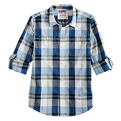Boys 8-20 Urban Pipeline® Roll-Tab Button-Down Shirt
