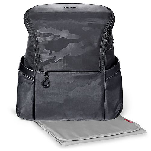 Skip Hop Paxwell Easy Access Camo Backpack Diaper Bag