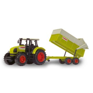 Dickie Toys Toy Claas Tractor & Trailer