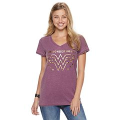 Juniors' Wonder Woman Foiled 'I am Wonder Woman' Graphic Tee