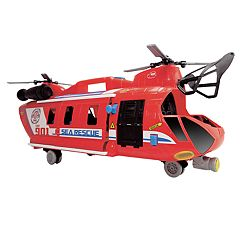 Dickie Toys Light & Sound Giant Helicopter & ATV Car