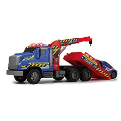 Dickie Toys Light & Sound Giant Tow Truck