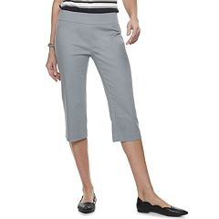 Women's Croft & Barrow® Effortless Stretch Pull-On Capri Pants