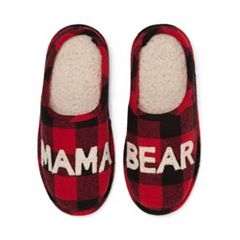 Women's Dearfoams Mama Bear Family Frenzy Slippers