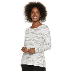 Women's SONOMA Goods for Life™ Supersoft Zip Side Top