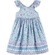 Toddler Girl OshKosh B'gosh® Floral Babydoll Dress