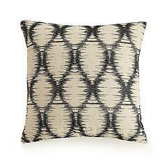 Ayesha Curry Embroidered Ogee Throw Pillow