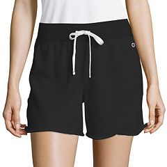 c6697f81019c Women s Champion Heritage French Terry Shorts. Black Oxford Gray ...
