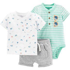 Baby Boy Carter's 3-Piece Bodysuit Set