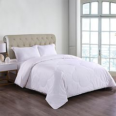 Cottonloft Medium Warmth Cloud Stitched Hypoallergenic Comforter