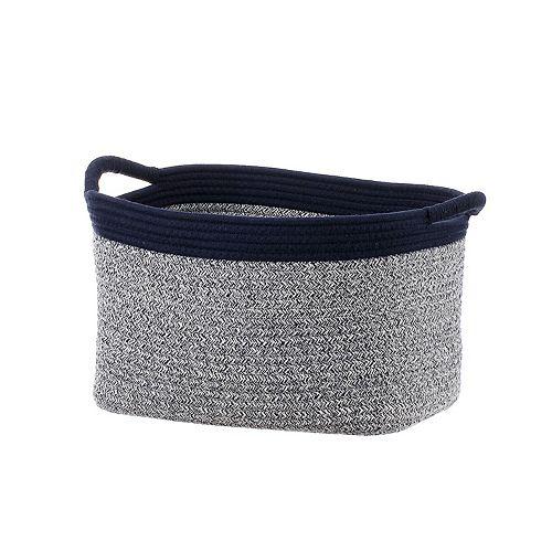 Basketville Coiled Rope Laundry Basket
