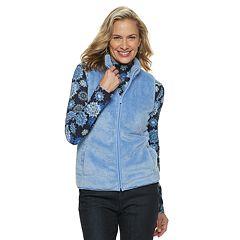 Women's Croft & Barrow® Fleece Vest