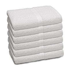 Martex 6-pack Commercial Bath Towel Set