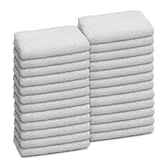 Martex 24-pack Commercial Washcloth Set