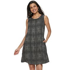 84932280d7bc Women's SONOMA Goods for Life™ Pintuck Challis Dress